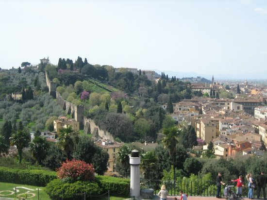 We Like Tuscany : Florence from observation area - view from the bike ride