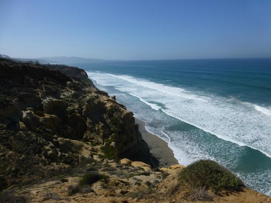 Torrey Pines State Natural Reserve: Cliff View