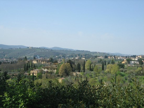 We Like Tuscany : View from the bike ride
