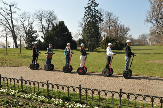 Segway Point - Prague Segway Tours : Posing :)
