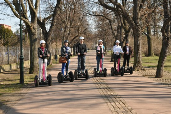 Segway Point - Prague Segway Tours : In the Letna park