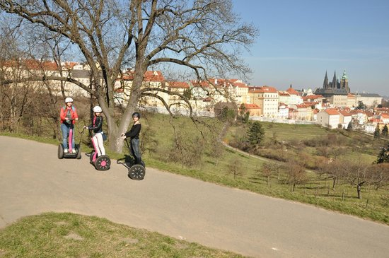 Segway Point - Prague Segway Tours : Prague Castle view