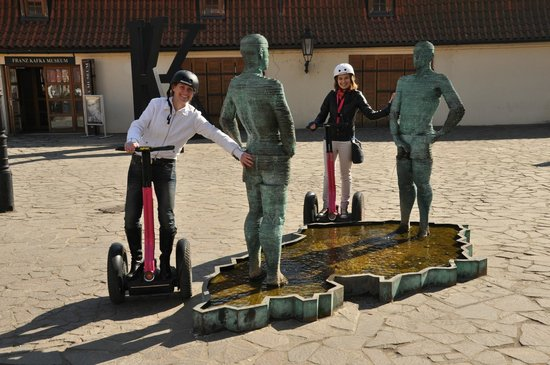 Segway Point - Prague Segway Tours : Having fun :)