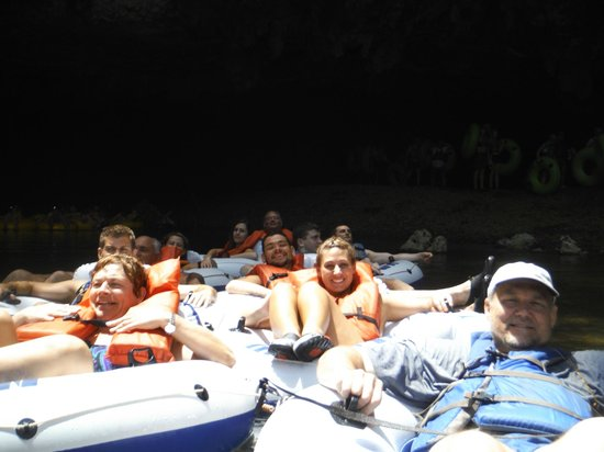 Cave Tubing R Us: Our Group