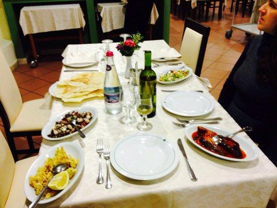 Il Quadrifoglio : Il nostro tavolo