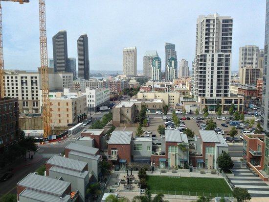 city view from our room picture of hotel indigo san. Black Bedroom Furniture Sets. Home Design Ideas