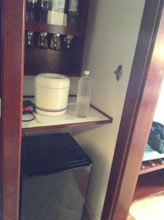 ClubHotel Riu Bachata : le frigo  et le bar