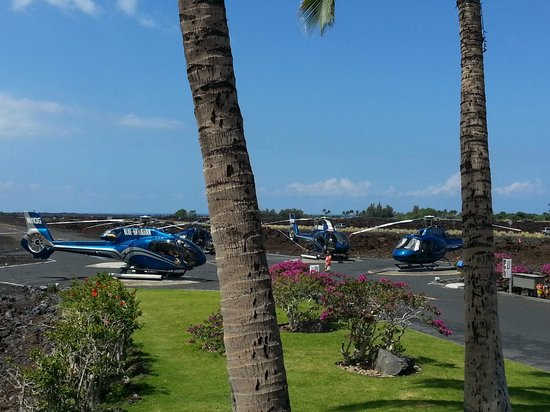 Blue Hawaiian Helicopters - Waikoloa : The Blue Birds!!!