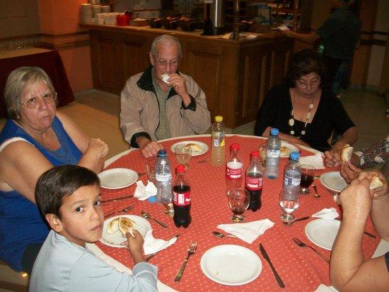 Hotel Pacifico : Comedor: cena
