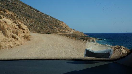 Balos Beach and Lagoon : A very treacherous road. Be careful.