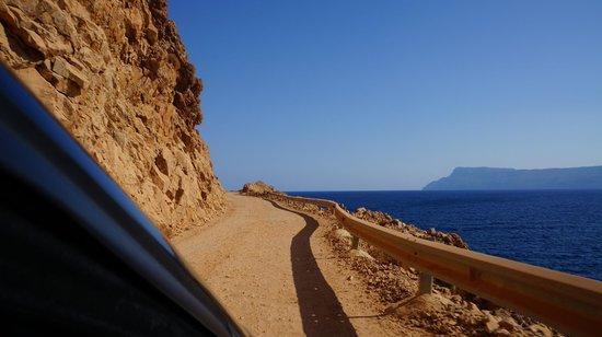 Balos Beach and Lagoon : This road is rough!