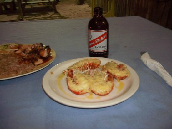Time N' Place: Lobster and a Red Stripe :)