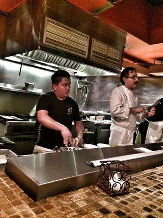 Nuestra Cocina: Chef Ben and team