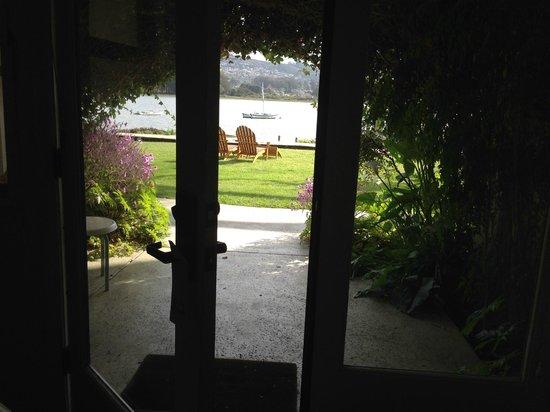 Back Bay Inn: View from inside Rm. 5