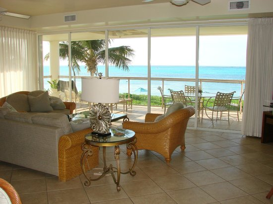 Coral Gardens on Grace Bay: View from kitchen/dining area