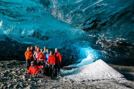 Alfasteinn Guesthouse- Day Tours: The ice cave Chrystal cave 1 of our day tours