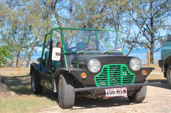 Arcadia Beach Guest House: The MOKE!!!