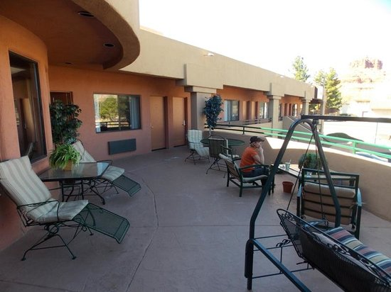 Wildflower Inn: Viewing Deck