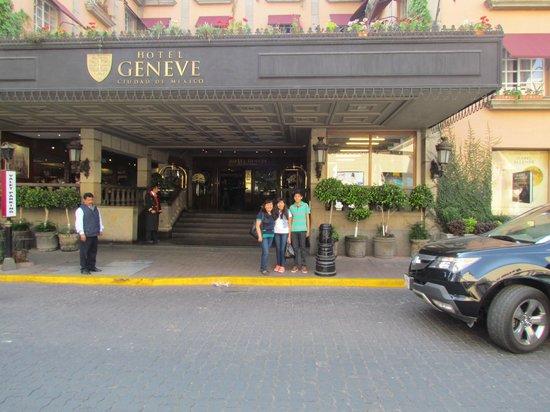 Hotel Geneve Ciudad de Mexico : Entrada del hotel