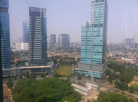 The Ritz-Carlton Jakarta, Mega Kuningan: Views from room
