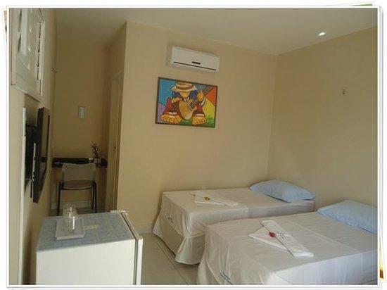 Pousada Lirios Do Campo: Foto de apartamento configurado como Duplo