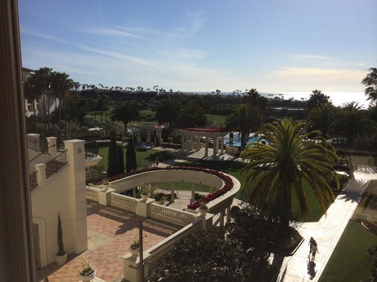 Monarch Beach Resort: view from lobby level