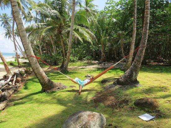 Yemaya Island Hideaway & Spa : Hammock near our room