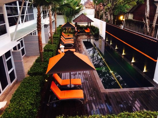 Bali Yarra Villas: View from hotel apartment