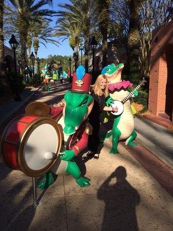 Disney's Port Orleans Resort - French Quarter : jazz band