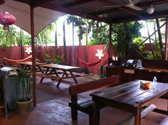 Travellers Oasis Backpackers : Communal area