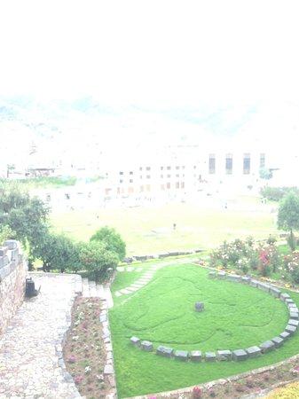 Convento de Santo Domingo: The garden