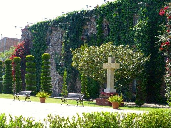 Posada de la Aldea: topiary