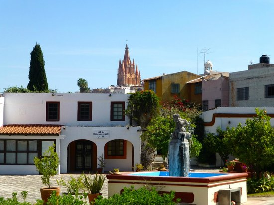 Posada de la Aldea: view from central courtyard