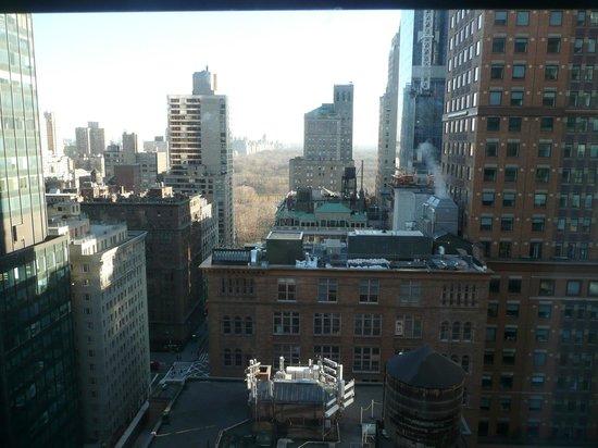 Wellington Hotel: Vista desde la habitación 2646 Hotel Wellington - NY