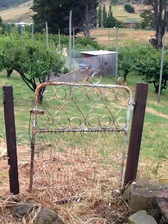 Stanton Bed and Breakfast: Garden gate