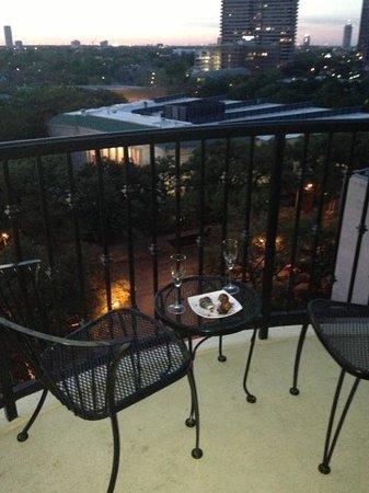 Hotel ZaZa Houston: BEST SEAT AT ZAZA