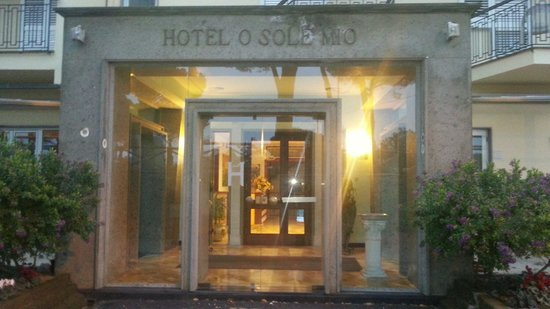 Hotel O Sole Mio: ingresso hotel