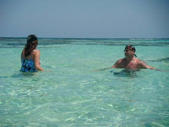 Iberostar Rose Hall Beach Hotel: Out on the reef