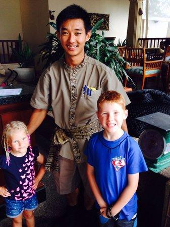 Novotel Phuket Resort : The kids loved the gorgeous staff at Novotel