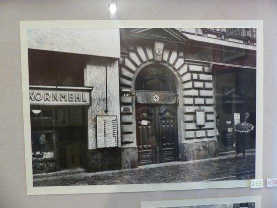 Sigmund Freud Museum: La fachada durante la ocupación nazi