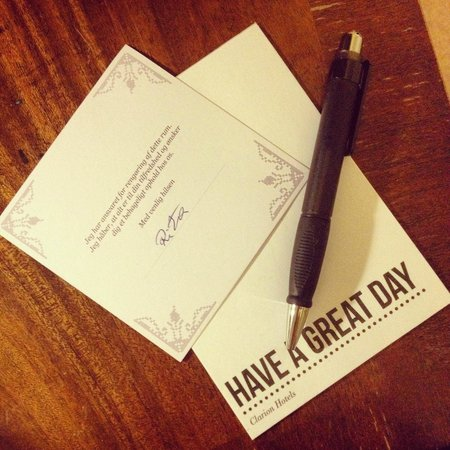 First Hotel Mayfair : A note from the hotel