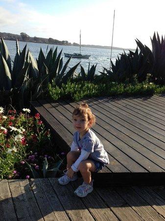 Back Bay Inn: sittin' on the dock of the bay