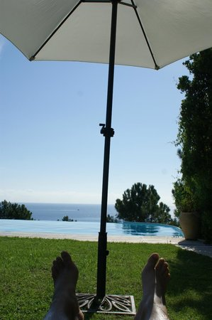 Résidence Odalys Mare e Monte : vue piscine