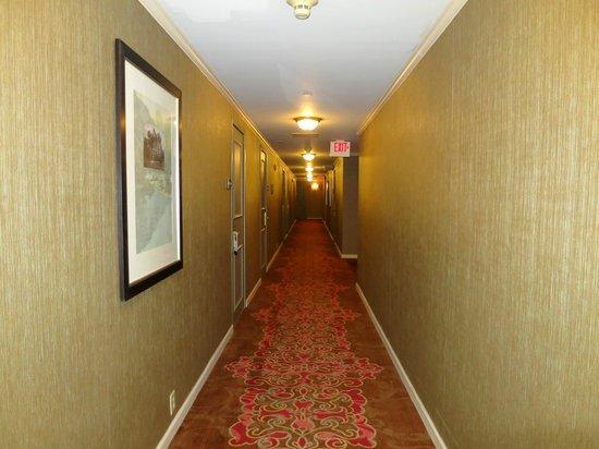Omni New Haven Hotel at Yale: Hallway