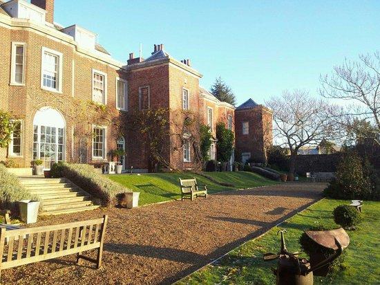 Pelham House: Sunny terrace