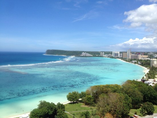 Pacific Star Resort & Spa: 部屋からの景色2