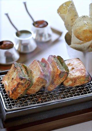 Soma (Indian Cuisine) at Grand Hyatt Mumbai: Tandoori paneer shaslik