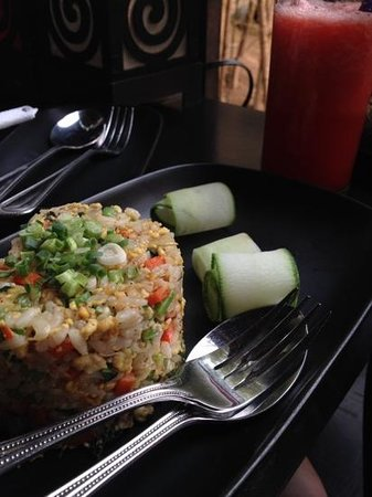 Dyen Sabai Restaurant: chicken fried rice