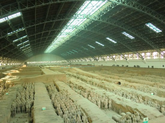 The Museum of Qin Terra-cotta Warriors and Horses: 兵馬俑 1号坑