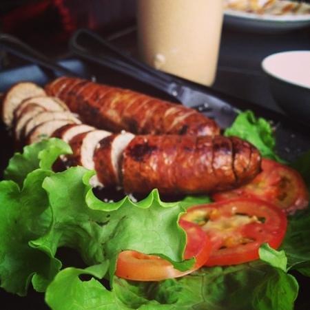 Dyen Sabai Restaurant: Luang Prabang Sausage